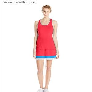NWT Lole Caitlin dress in chili red SZ M